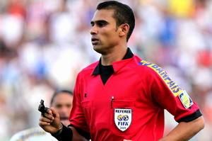 Arbitro Oscar Moncada