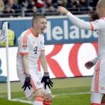 Bayern gana la Bundesliga a 6 juegos del final