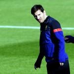Messi no jugará el domingo