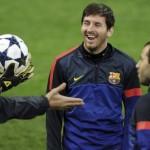 Messi se recuperó y enfrentará al Bayern Múnich