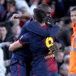 Abidal vuelve a jugar con Barça tras trasplante de hígado