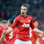 Robin van Persie, héroe del título 20 del Manchester United