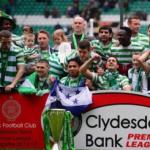 Celtic golea a St Johnstone en celebración del Bi Campeonato