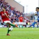 Gol de Roger Espinoza queda en la historia, Wigan casi descendido