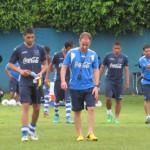 Jona Mejía impresiona en su primera práctica con Honduras