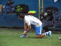Jorge Claros se alista para entrenar con la Bi Color