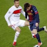 """Beckham: """"Decidí mi retiro cuando Messi me dobló en la cancha"""""""