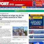 Prensa europera destaca triunfo de hondureño Milton Ramos