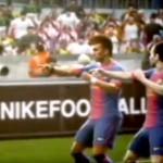 VIDEO: Neymar golea y baila con el Barça