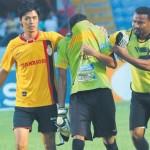 Sandro Cárcamo se siente culpable de la derrota