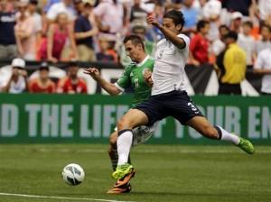 Miroslav Klose de Alemania contra , Omar Gonzalez