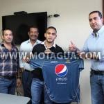 Orlin Peralta es nuevo jugador de Motagua