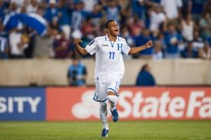 Rony Martìnez anotò su primer gol con Honduras