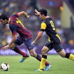 Barcelona confirma lesión de Fabregas