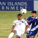 Doblete de Darixon vuelto, hace campeón a Honduras Sub-15