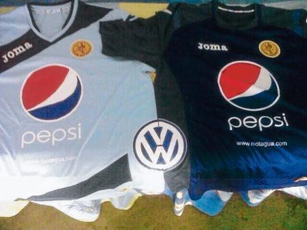 Camisa Motagua Apertura 2013
