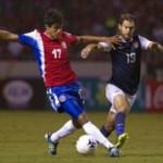 Costa Rica frena a EE.UU y asume liderato en la hexagonal