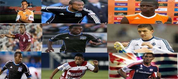 En la actualidad hay ocho jugadores hondureños en la MLS
