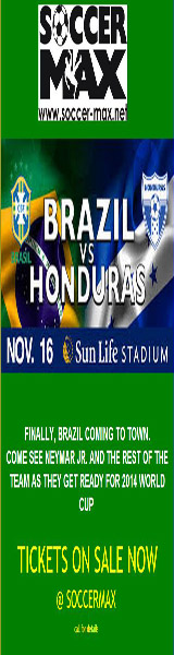 Boletos amistoso Brasil Honduras