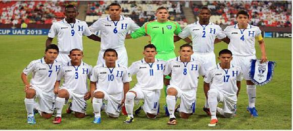 Honduras Emiratos Sub 17