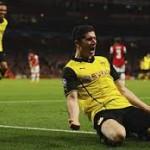 El Borussia Dortmund toma el Emirates