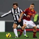 Juventus lucha con la Roma por el liderato