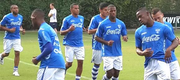 Entrenamiento Honduras 12 Nov