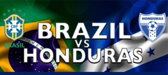 Honduras v Brasil 16 Nov 2013