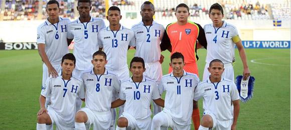 Once titular Honduras v Escocia