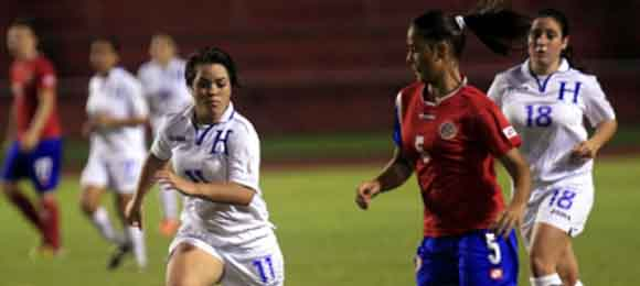 Accion Honduras Costa Rica Sub 20 femenino