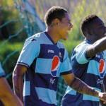 Argentino Chori Sosa felíz con el debut en Motagua