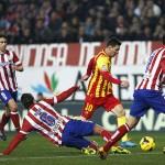 Atlético y Barcelona empatan y siguen colíderes