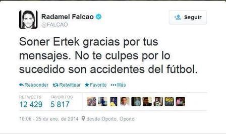Falcao Twitter