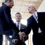 """""""Miami tiene hambre de fútbol"""" Beckham"""