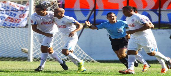 F9 Omar Guerra celebra contra Dep Savio