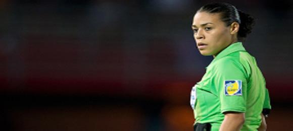 Arbitro Melissa Borjas Pastrana