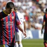 Barça dejó en bandeja de plata título al Madrid