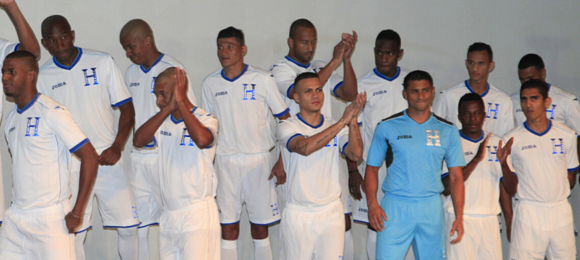 Brasil 2014 uniforme Honduras
