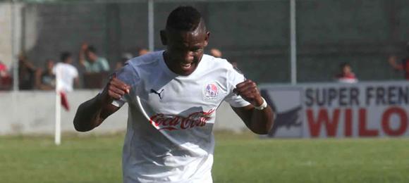 Romell Quioto ha anotado 38 goles en 95 partidos con el Olimpia