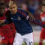Expulsión de Thomas, marcó jornada en la MLS para los Catrachos
