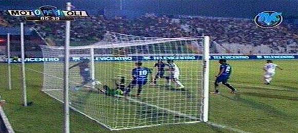 Gol polemico Clasico Motagua Olimpia