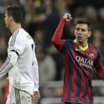 Messi acecha con sus goles a Cristiano y a Costa