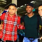Viajaron esperanzados estar en Brasil