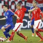 Suiza mostró su poder ante Croacia