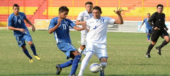 El Salvador Honduras U20 amistoso 2014