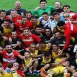 Atlético Madrid ganó la Liga ahora va por la Champions