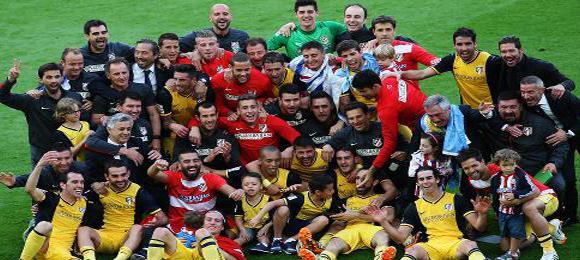 Atletico Madrid Campeon 5172014