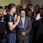 """Presidente Hernández """"Hagan lo que tengan que hacer para ganar en Brasil"""""""