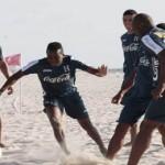 Boniek, Peralta y Garrido no trabajaron en la playa