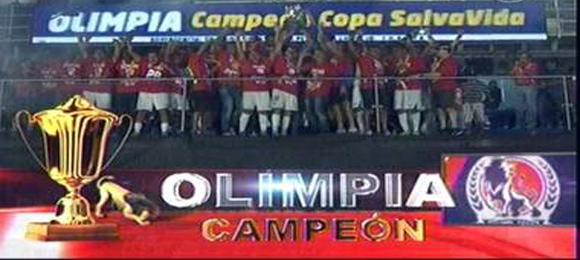 Clausura final Olimpia Campeon